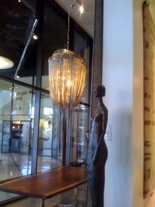 #1 Fantastic Glam Chandalier and Bronze Sculpture - 2010 Market