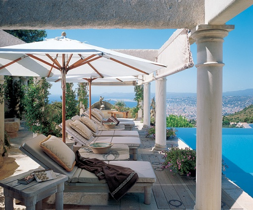 Tina Turner 39 S Modern Mediterranean Style Villa Featured In Architectural Digest How To Do It